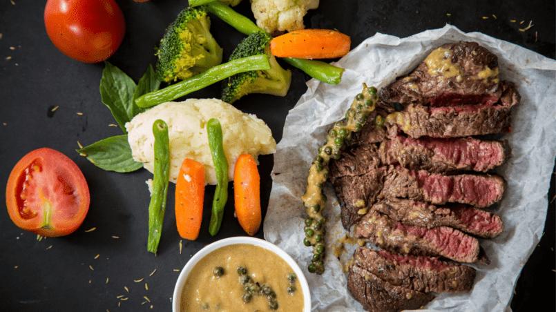 نمادج لأطعمة تحتوي على بروتين