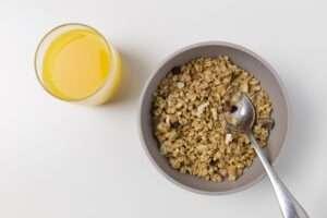 أطعمة تحتوي على بروتين : الشوفان